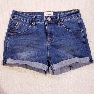 Hudson Kids Roll Cuff Shorts